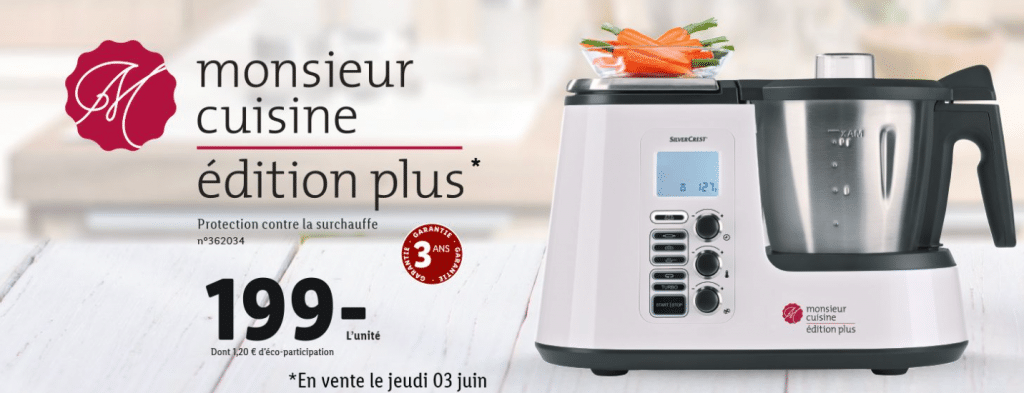 Monsieur Cuisine Edition Plus de Lidl