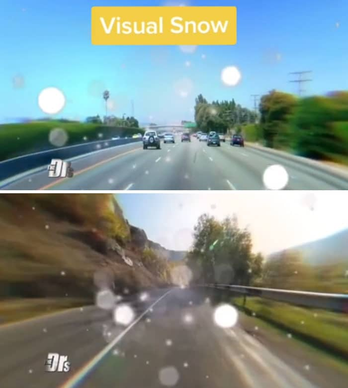neige visuelle