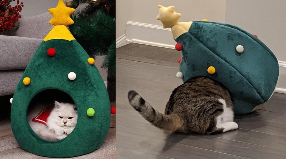 un panier pour chat