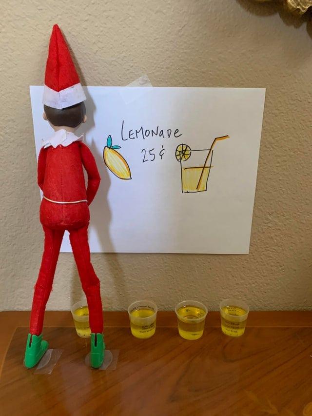 un signe pour vendre de la limonade