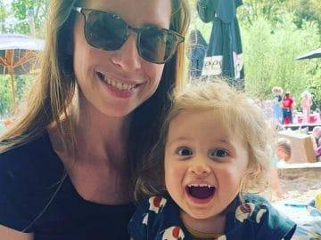 Hellen et sa fille Pia