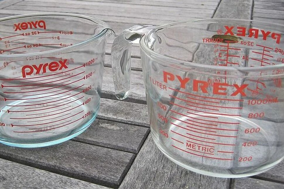 Plats en verre Pyrex