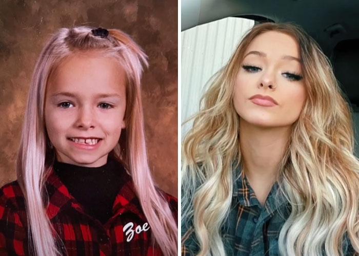 Un enfant devenu une jeune femme