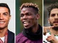 Ronaldo, Pogba et Locatelli