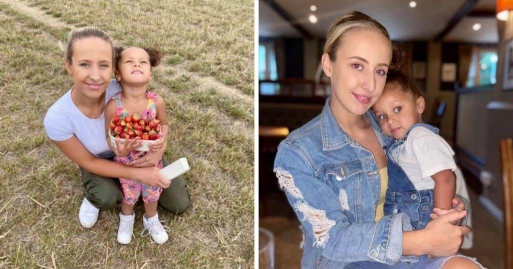 Summer Thompson et sa fille