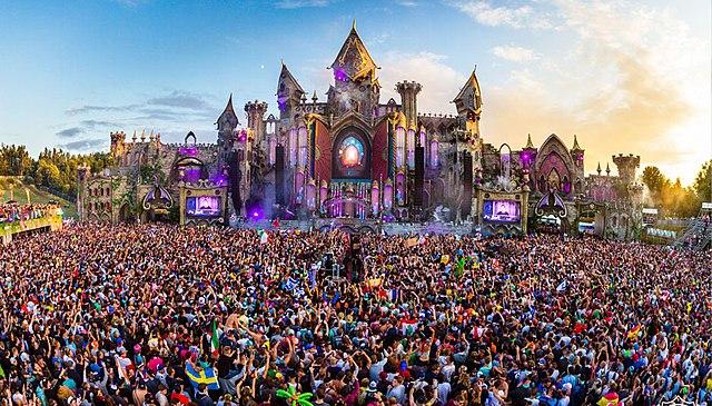 le festival Tomorrowland