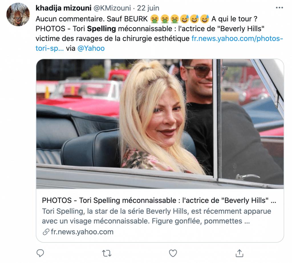 L'ex-star de Beverly Hills