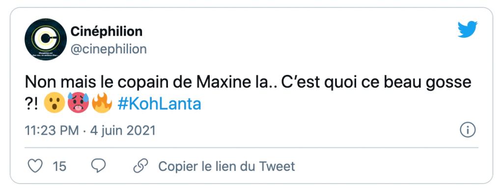 un tweet sur la chérie de Maxine