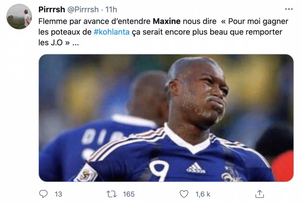 tweet sur la finale de Koh-Lanta 2021