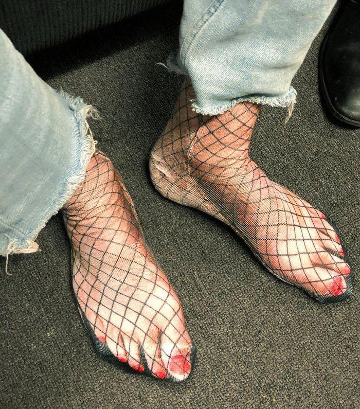 des chaussettes