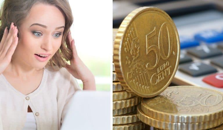Certaines pièces de 50 centimes peuvent vous faire gagner beaucoup d'argent