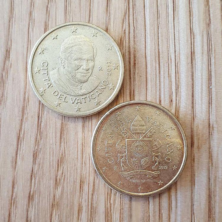 50 centimes du vatican