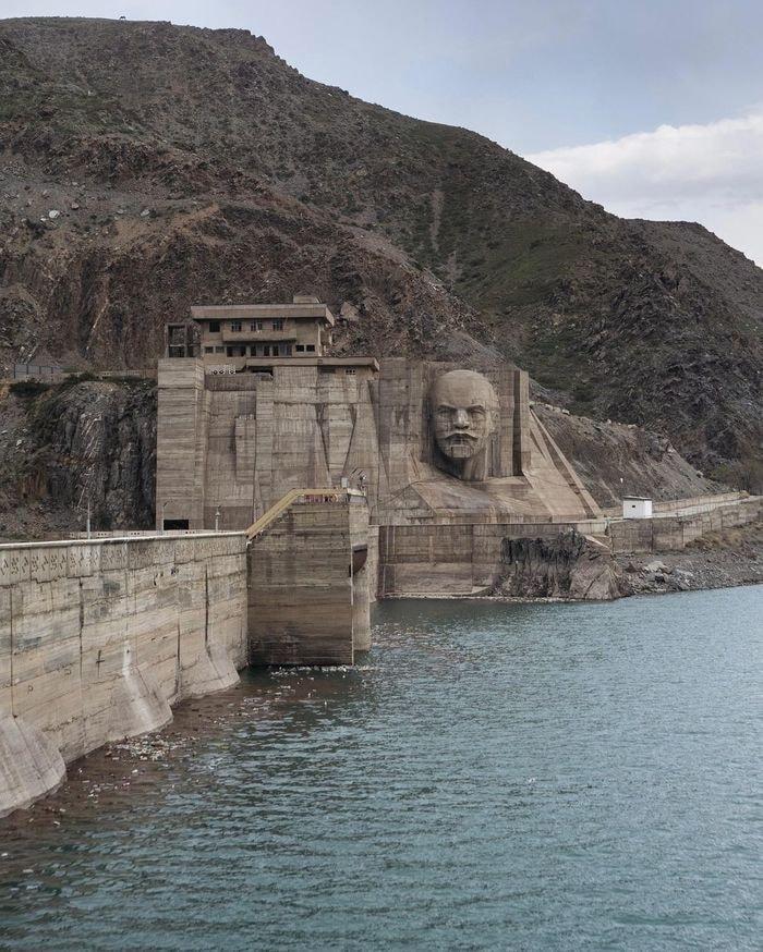 Le barrage de Kirov au Kirghizstan