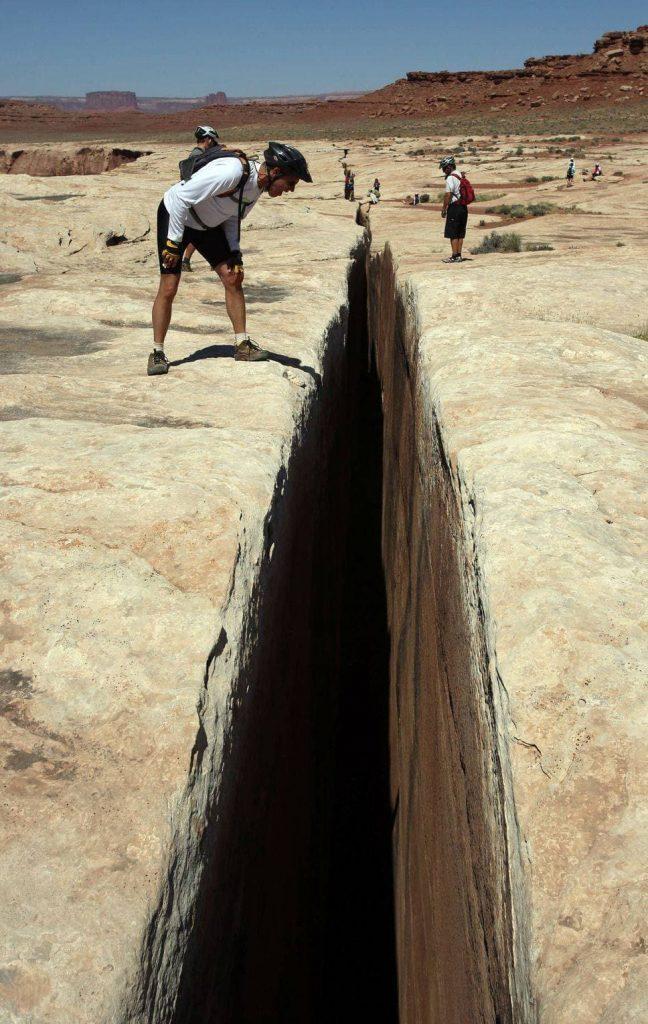 La faille de Canyonlands aux USA