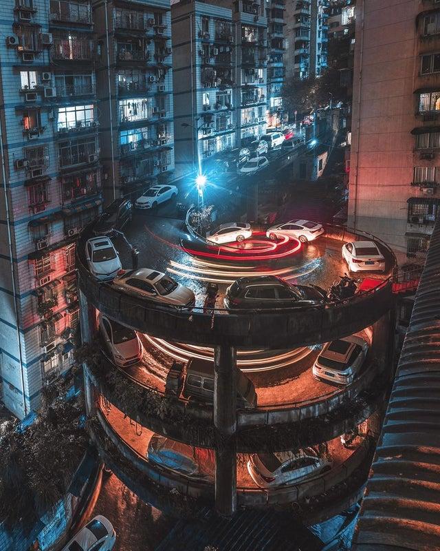 la ville de Chongqing en Chine