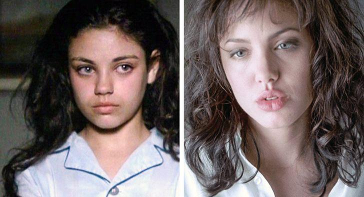 Mila Kunis et Angelina Jolie