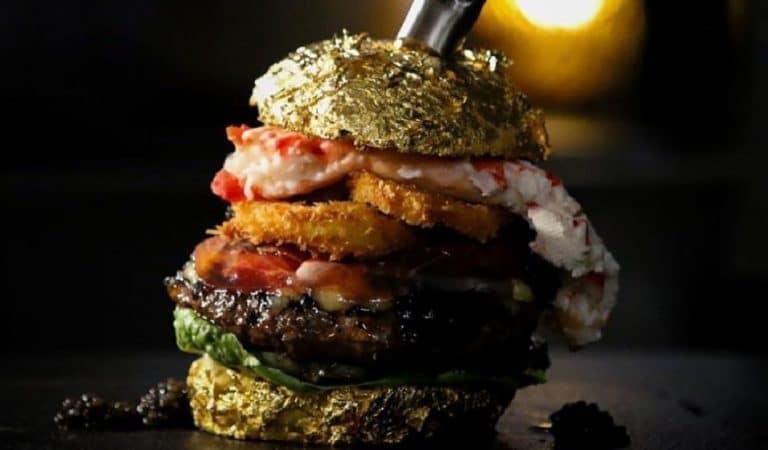 Un burger vendu à 5000 euros, découvrez ce qu'il contient !
