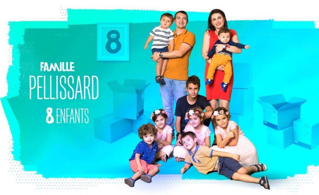 Les Pellissard dans Familles nombreuses, la vie en XXL