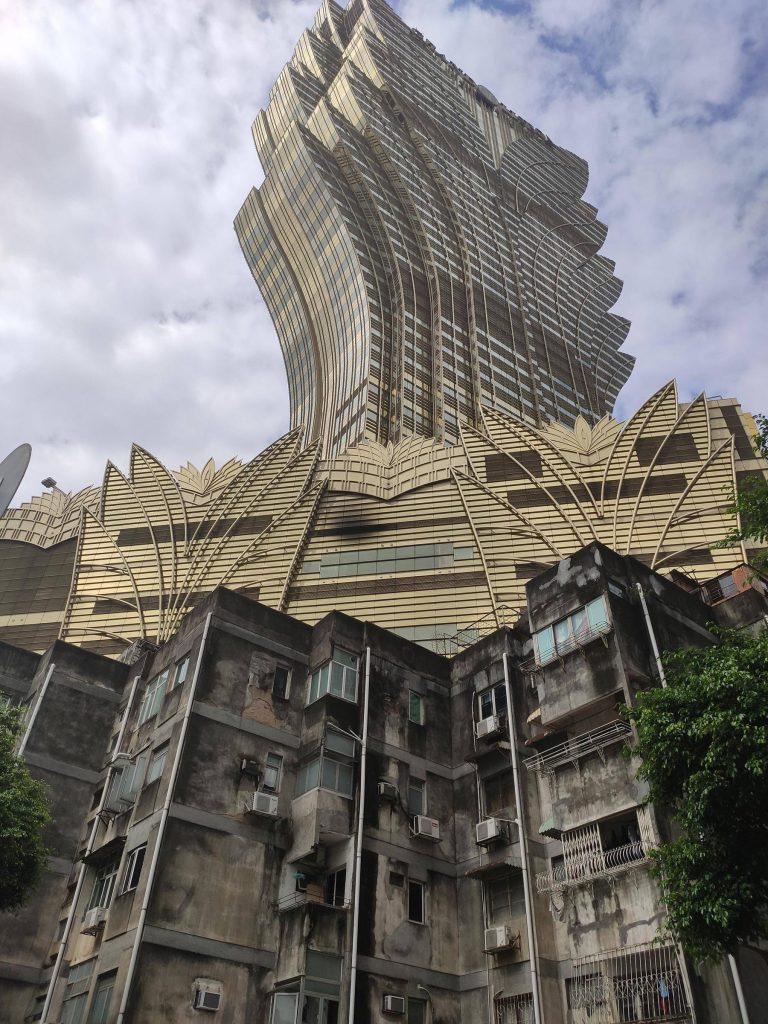 un gratte-ciel de Macao