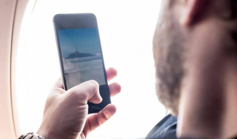 Que se passe-t-il si l'on n'active pas le mode avion du téléphone pendant le trajet en avion ?