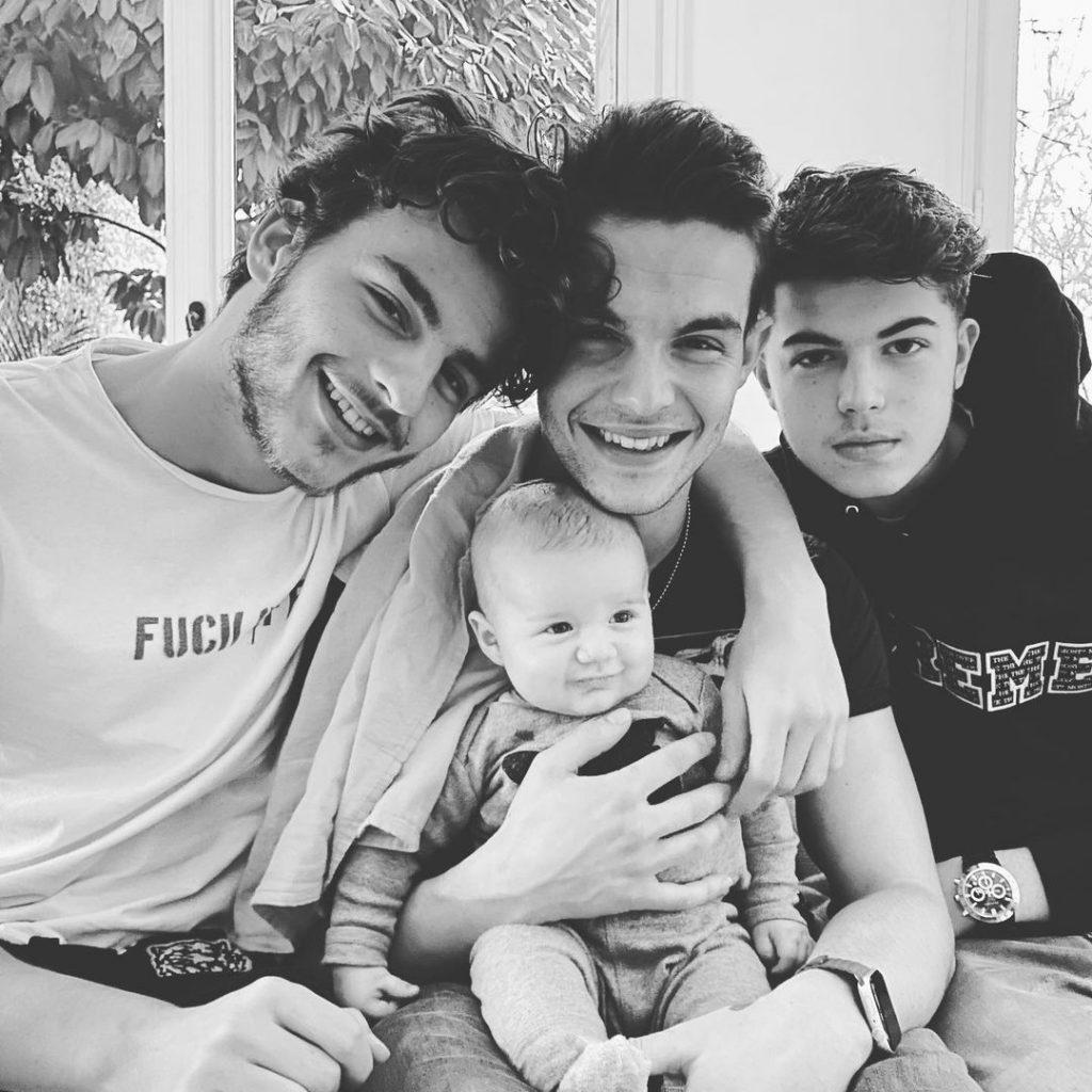 Simon, Julien, Gabriel et Enzo Castaldi