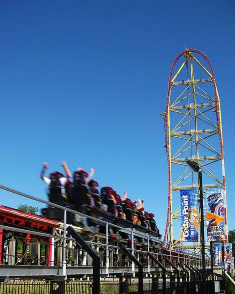 le top thrill dragster