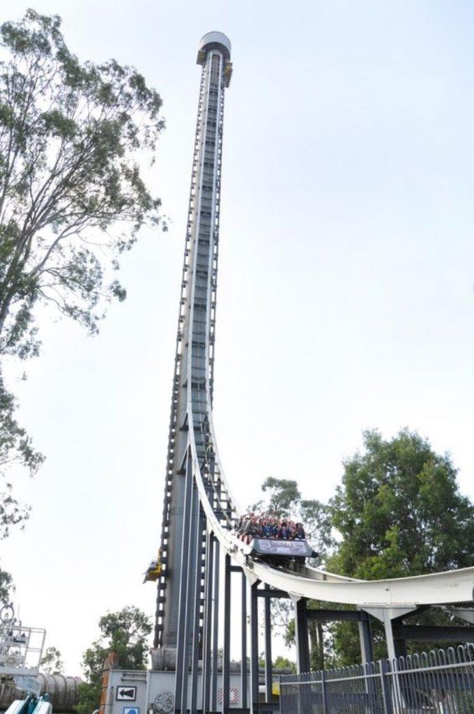 La tour de la terreur en australie