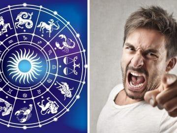 Les signes astro en colère