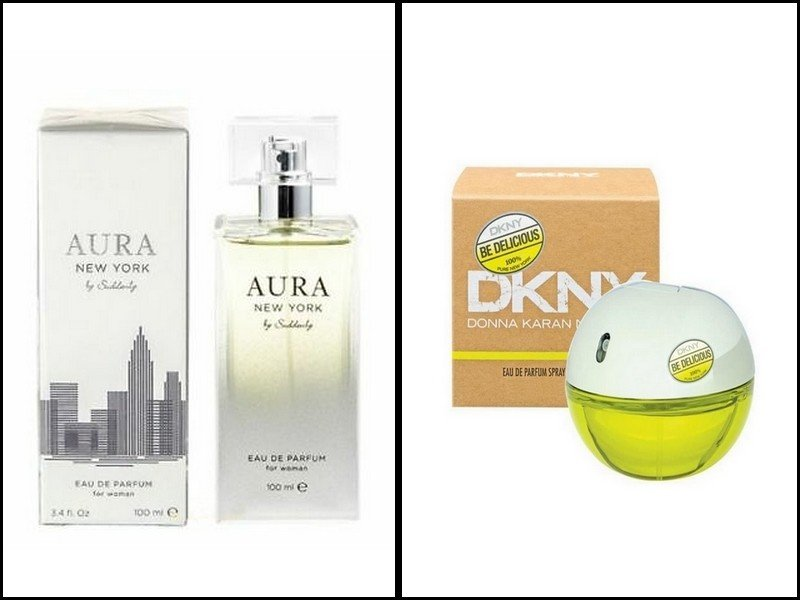 le parfum lidl Aura New York by Suddenly