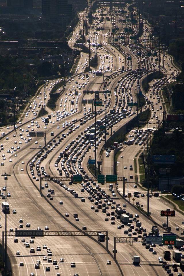 Des autoroutes immenses