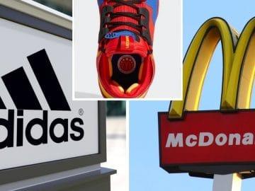 Adidas mcdonald's basket