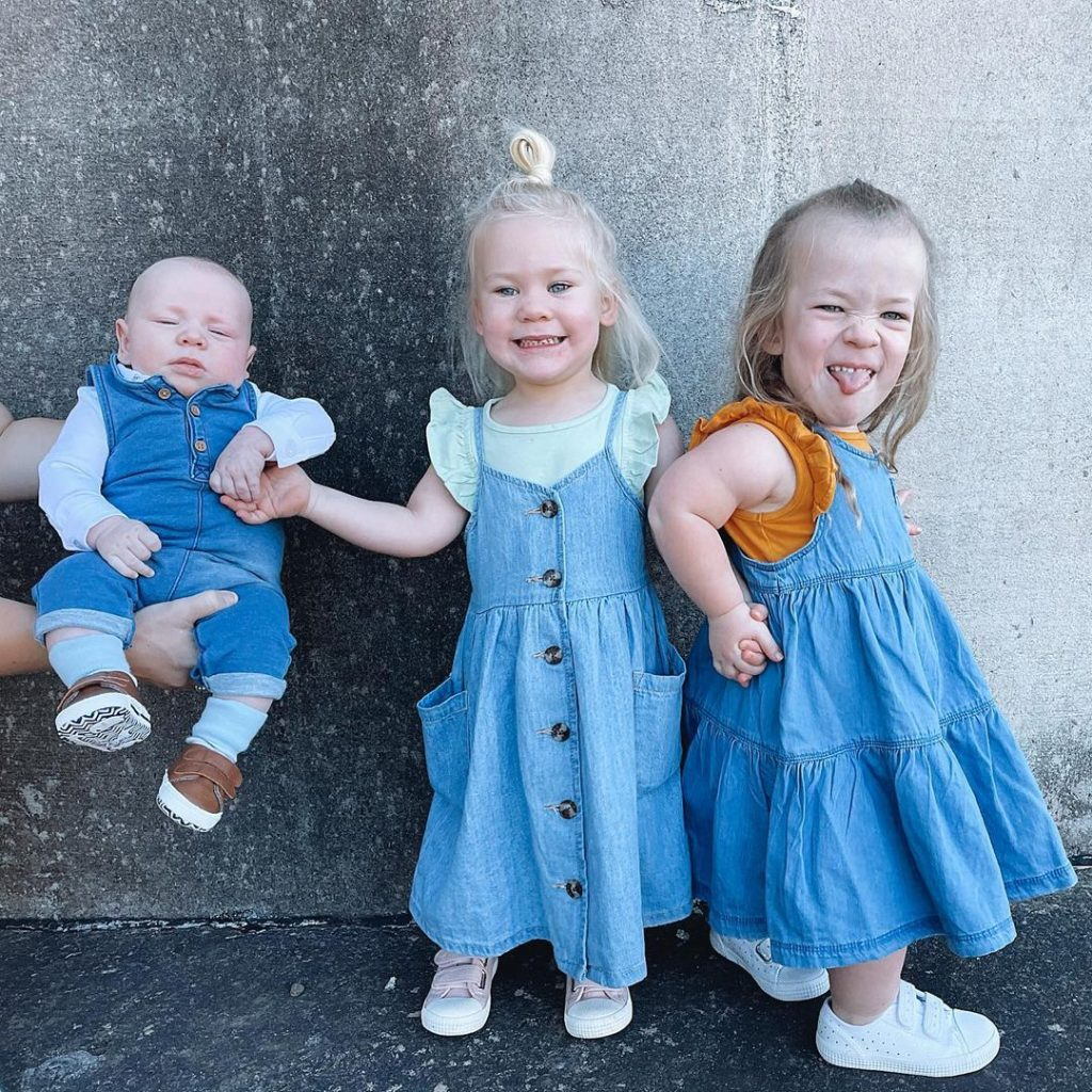 les enfants de Charli Worgan