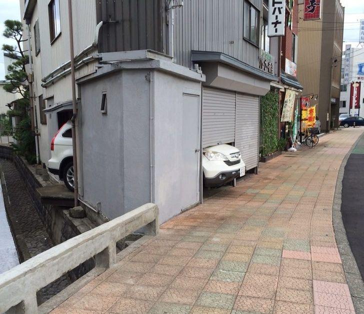 un garage trop petit