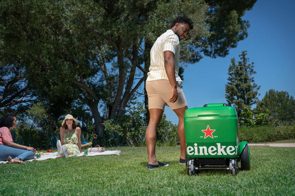 le robot de Heineken