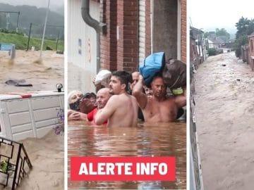 Les inondations en Belgique