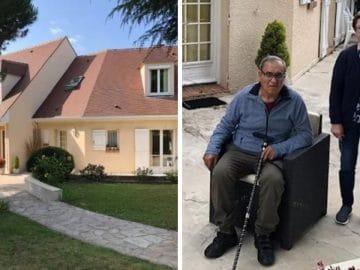 Mr et Mme Carneiro et leur maison squattée