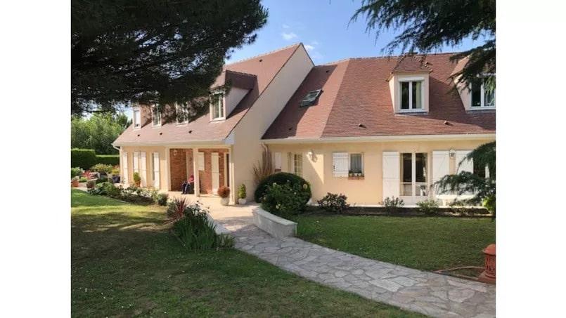 la maison squattée à Chambourcy (Yvelines)