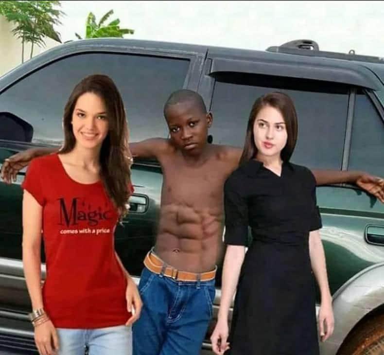 un montage photoshop amusant