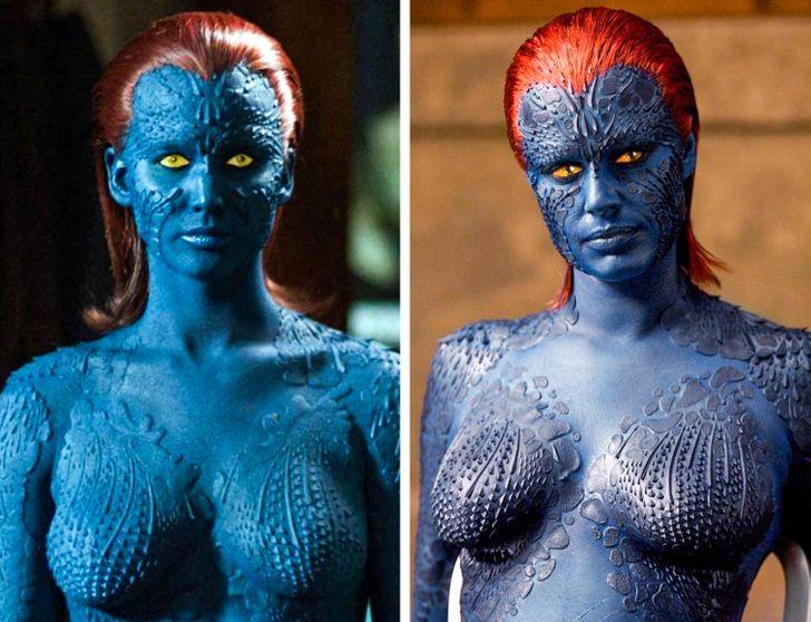 Jennifer Lawrence et Rebecca Romijn