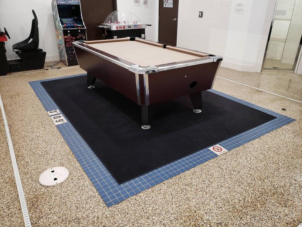 une table de billard