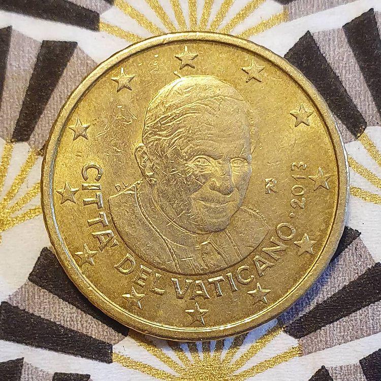pièce de 50 centimes du vatican