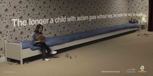 une campagne pour l'autisme