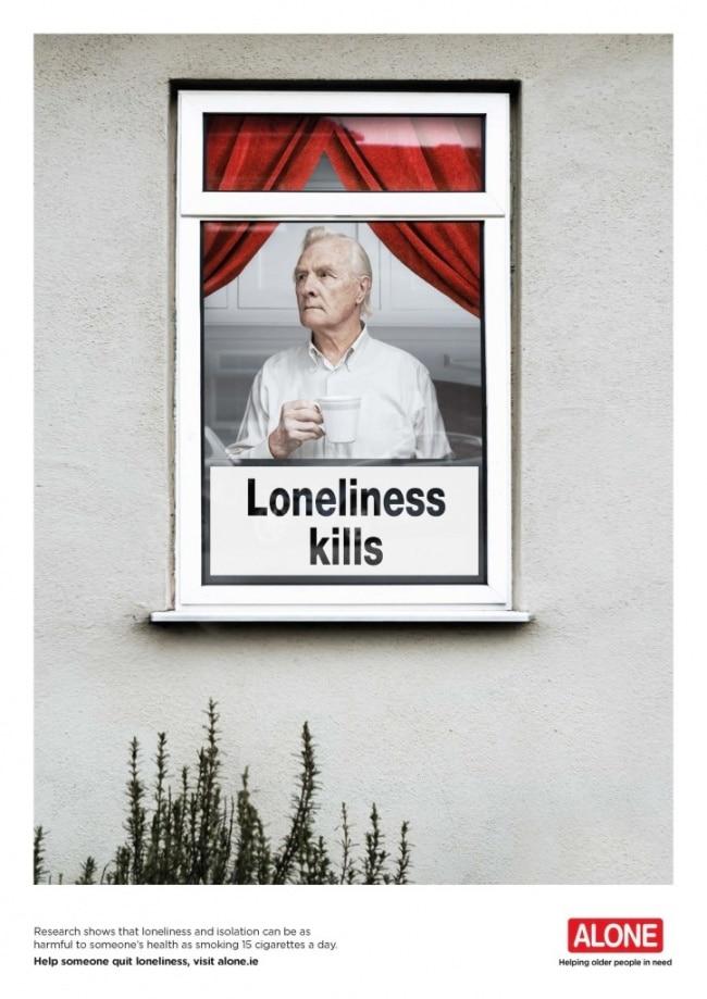 une pub contre la solitude
