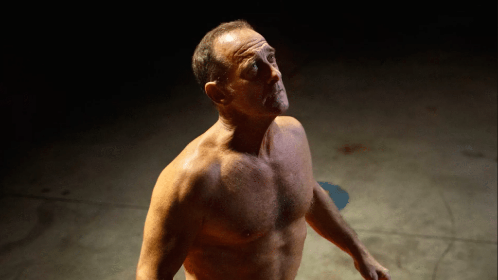 Vincent Lindon dans Titane