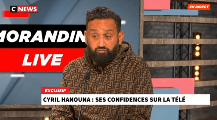 Cyril Hanouna CNews