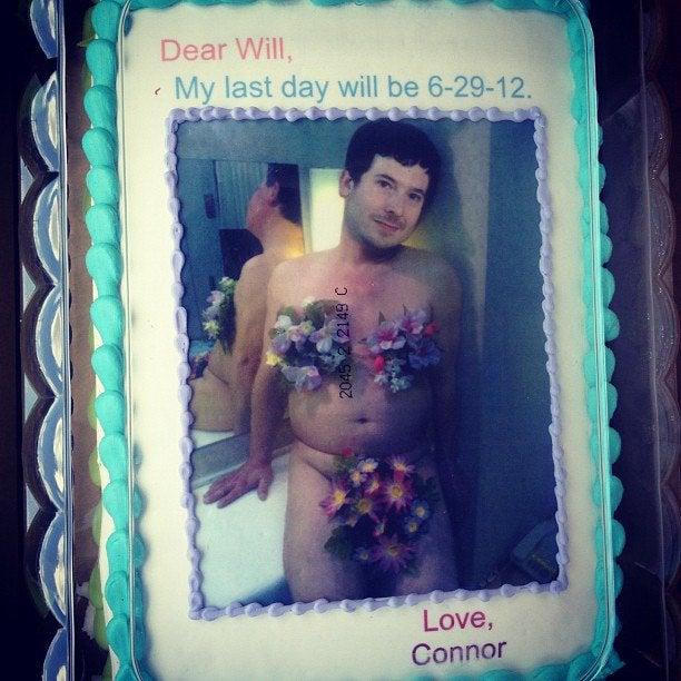 Le gâteau de Conor