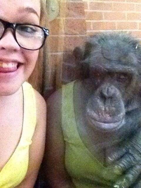 femme-singe-reflet-miroir