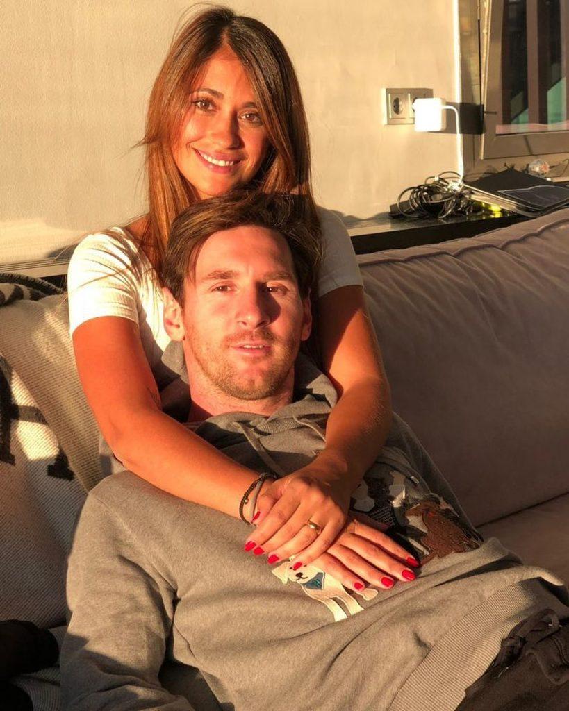 Lionel Messi et Antonela Roccuzzo