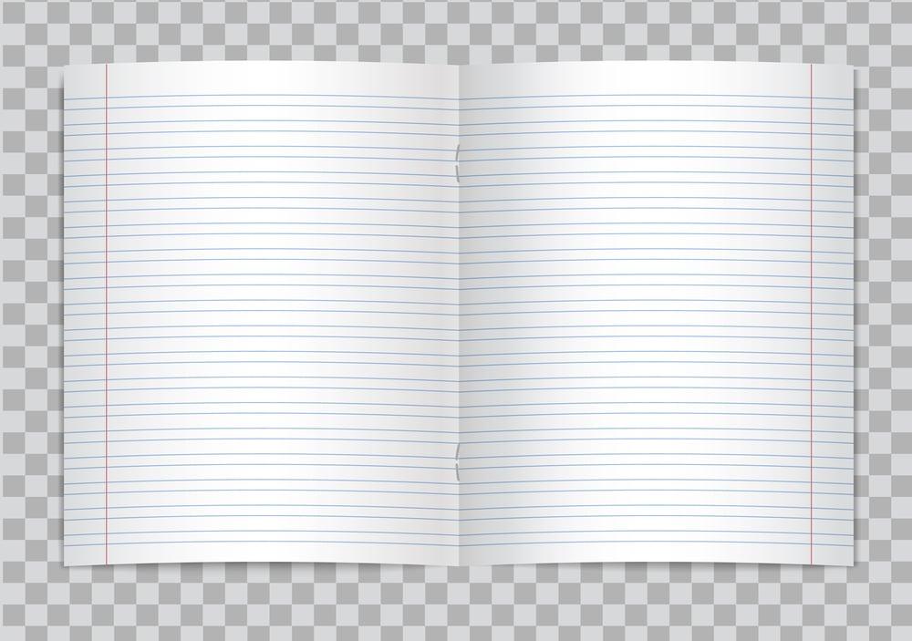 Marges d'un cahier
