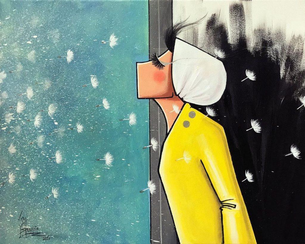 Shamsia Hassani imagination
